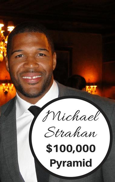 Dr Oz: Michael Strahan $100,000 Pyramid & Games Health Benefits