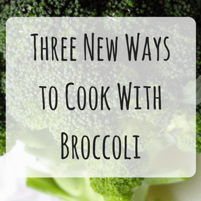 Dr Oz: Roasted Broccoli, Pan Steamed Broccoli & Broccoli Bowl