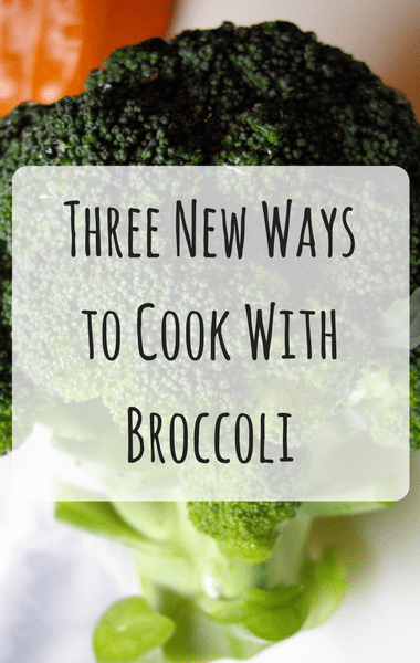 Dr Oz: Roasted Broccoli, Pan Steamed Broccoli & Broccoli Bowl
