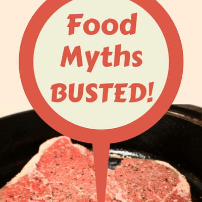 Dr Oz Food Myths: Sear A Steak To Lock In Juice? Clean Mushrooms?
