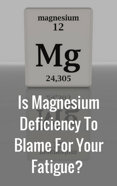 Dr Oz: Magnesium Deficiency + Magnesium Spray For More Energy