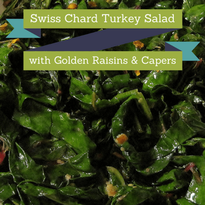 Dr Oz: Rocco DiSpirito Swiss Chard Salad & Chocolate Almonds